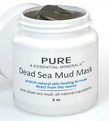 04. BEST Dead Sea Mud Facial Mask + FREE BONUS EBOOK Cleansing Acne & Pore Reducing Anti Aging Mask for Clear