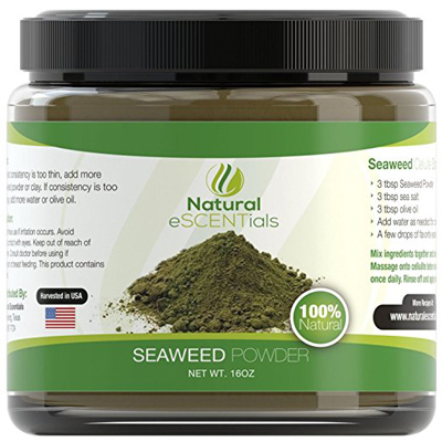02. Seaweed Powder 100% Organic Kelp Powder Cellulite Treatment Fresh Norwegian Ascophyllum Nodosum