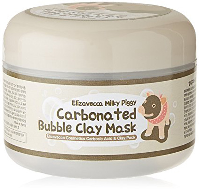 03. Elizavecca Milky Piggy Carbonated Bubble Clay Mask