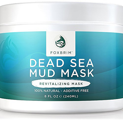 06. Pure Dead Sea Mud Mask - 100% Natural Clay Face Mask by Foxbrim - Additive Free