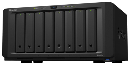 Synology DS1817+8GB 8-bay NAS Diskstation