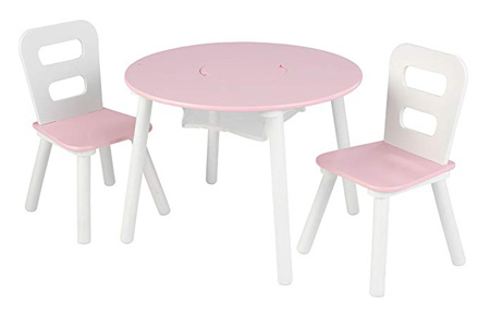 KidKraft 1 Roundtable and 2 Chairs