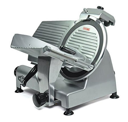 KWS Premium Commercial 420w Electric Meat Slicer 12