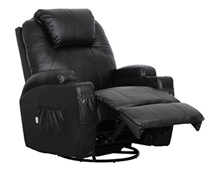 Esright Massage Recliner Chair Heated PU