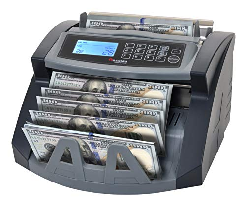 Cassida UV/MG Money Counter with Counterfeit Detection