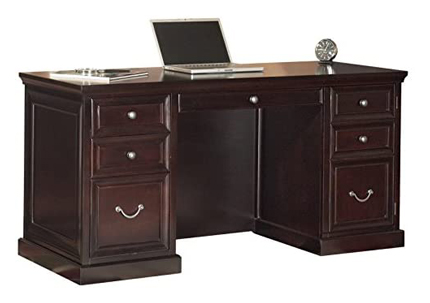 Martin Furniture Fulton Executive Office Desk