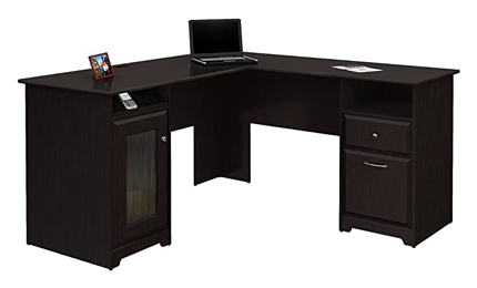 Bush Cabot L Shaped Executive Office Desk