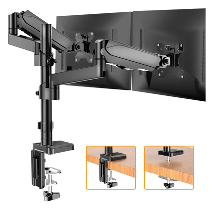 Huanuo Dual Arm Monitor Stand
